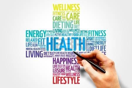salute: Salute nuvola parola, concetto che la salute