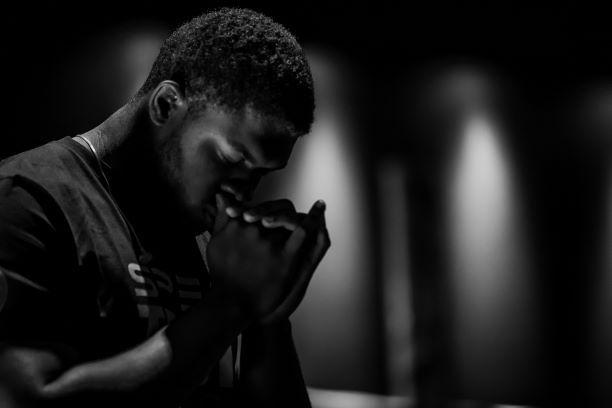Seven Encouraging Reasons To Pray Unlocking The Bible Prayer Pictures Prayer Images Man Praying