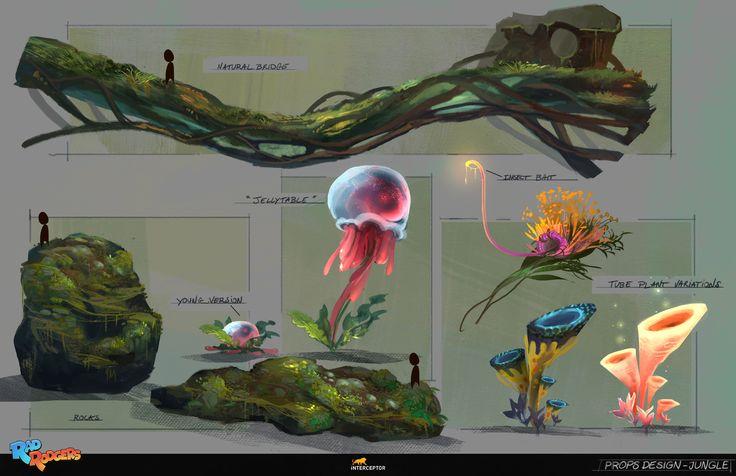 ArtStation - Rad Rodgers - Props Design, Florian Coudray