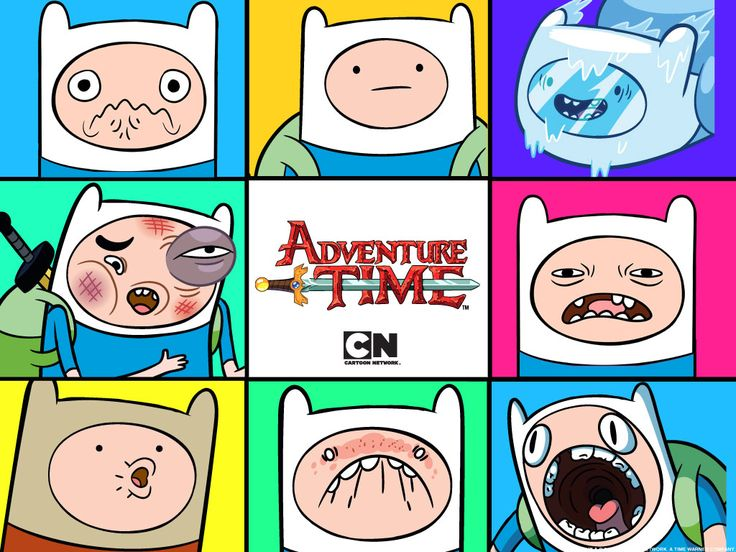 The many faces of Finn :D