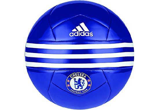 adidas Chelsea Soccer Ball - Chelsea Blue & White | SoccerMaster.com
