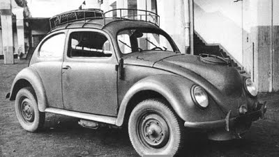 KDF WAGEN TYPE 230 Holzbrenner, used wood fuel due to gasoline shortage WW2.