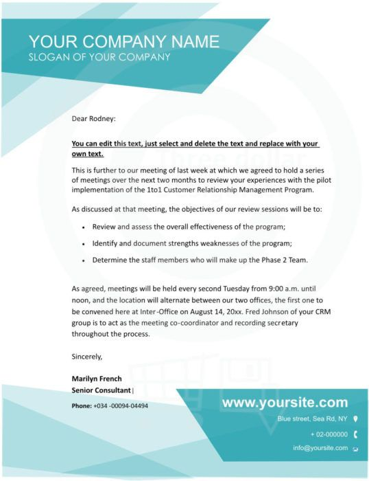The 25+ best Company letterhead template ideas on Pinterest - meetings template