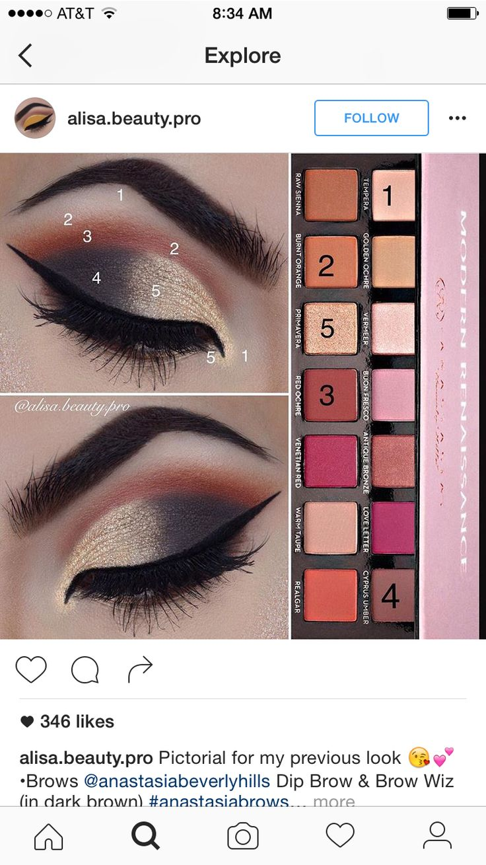131 best Eye Makeup images on Pinterest | Makeup ideas, Beauty makeup and  Eyeshadow tutorials