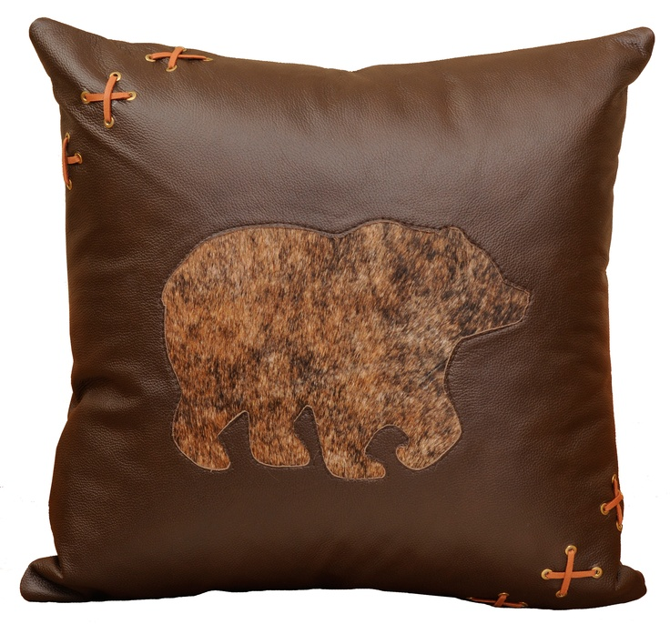 48 best images about Decorative Leather Pillows on Pinterest