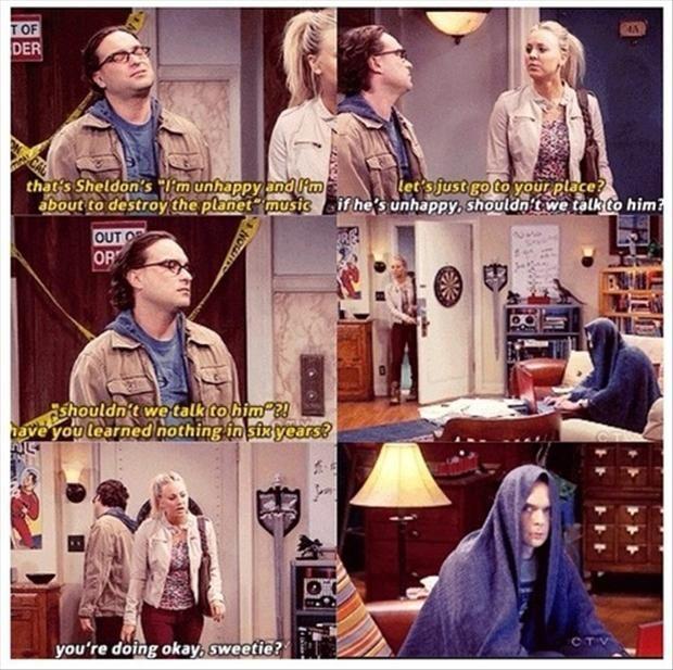 Sheldon Cooper is my spirit animal