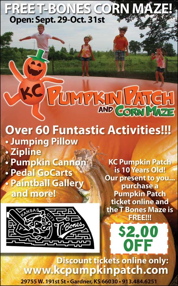 $2 OFF over 60 Funstastic Activities at the KC Pumpkin Patch and Corn Maze!