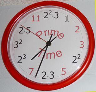 clock-prime.jpg 308×296 pixels: Clocks Prime Jpg 308 296, Help Students, Math Teacher, Math Math, Factors Clocks, Classroom Inspiration, 5Th Grade, Education Math, Classroom Ideas