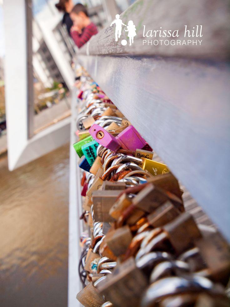 Lock, locks, padlocks, Melbourne Bridge, Melbourne CBD, pink lock,