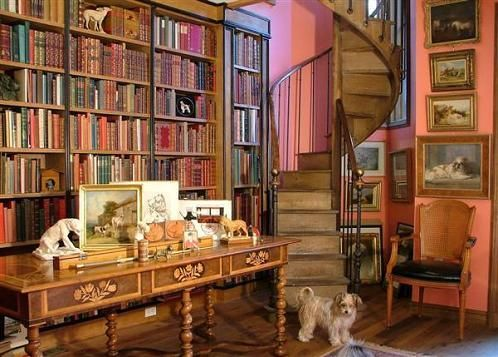 I want a staircase liek this leading me to my own library