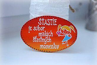 Magnetky - Magnetka - šťastie - 7662113_