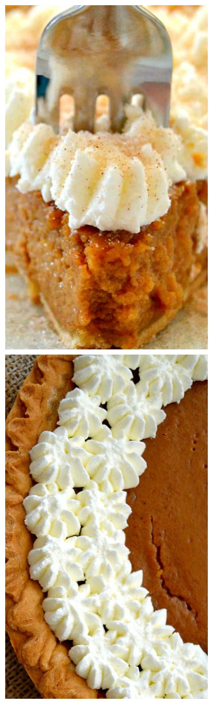 Apple Butter Pie ~ Warm, comforting dessert... A great alternative to pumpkin pie.