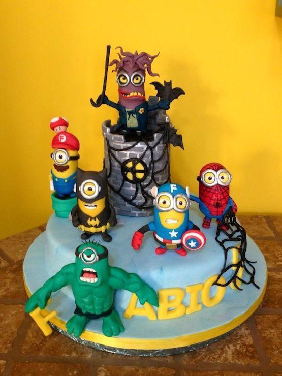 minion superhero cake - Google zoeken