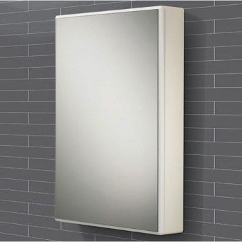 tulsa white double door bathroom mirrored cabinet