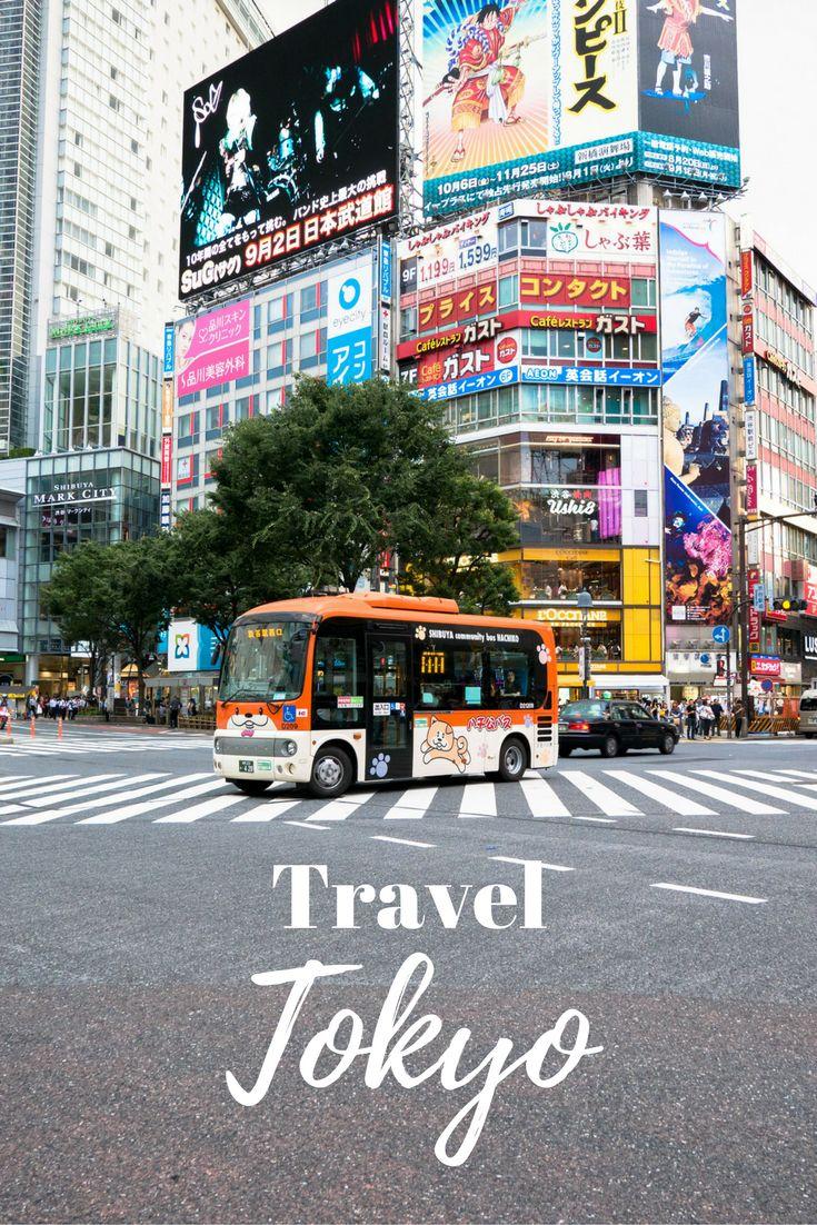 Travel Tokyo, Japan | World Bucket List Trip | City | Nature | Shibuya Crossing