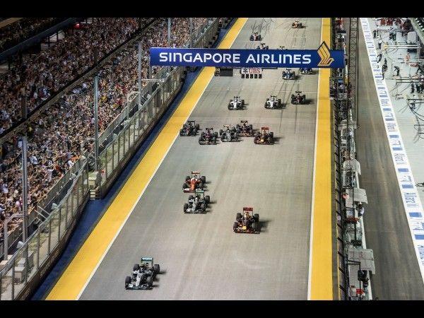 F1 - Première version du calendrier 2017