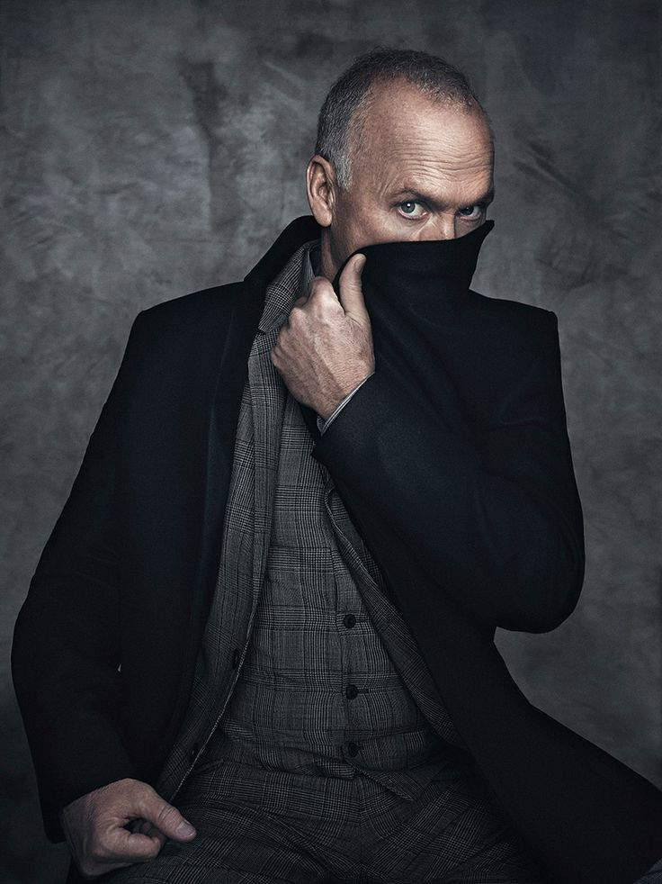 Michael Keaton, by Miller Mobley