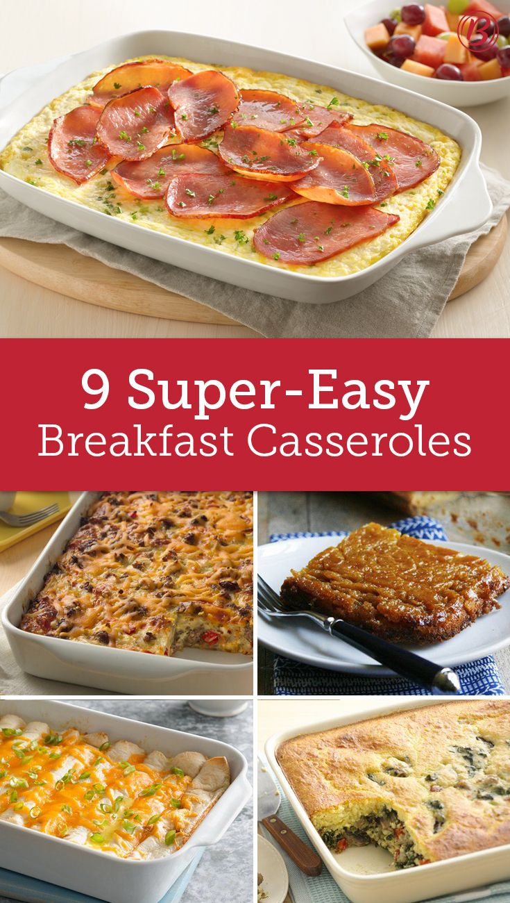 Maximum breakfast deliciousness with minimum effort? Don't mind if we do! From sweet to savory, these crowd-sized breakfast bakes are lifesavers when you're hosting overnight guests.