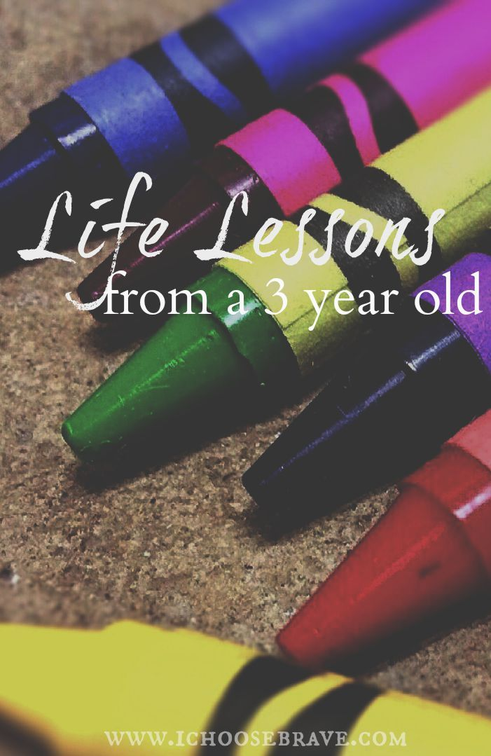 There is so much we can learn from the little people in our lives if we are willing to listen.  Motherhood and Life Lessons from a 3 year old.