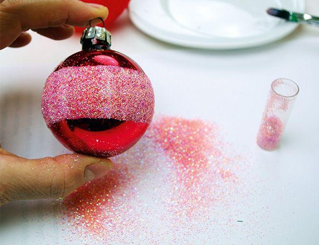 Die besten 25 weihnachtskugeln basteln ideen auf - Christbaumschmuck selber machen ...