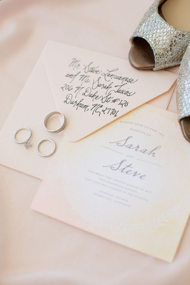 The shoes,the rings,and the invitation.. #shoes #ring  #invitation #pink