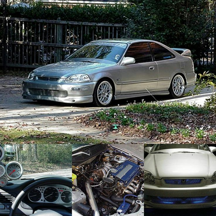 Check out civicracer98's mods, gallery and more on their 1998 Honda Civic Coupe B18c Showcase at PureHonda.com. #PureHonda