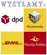 Wysyłamy do Paczkomatów, kurierem DPD, DHL oraz Pocztą Polską