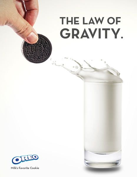 Milk and oreos are one of the greatest nighttime snacks or anytime snack.