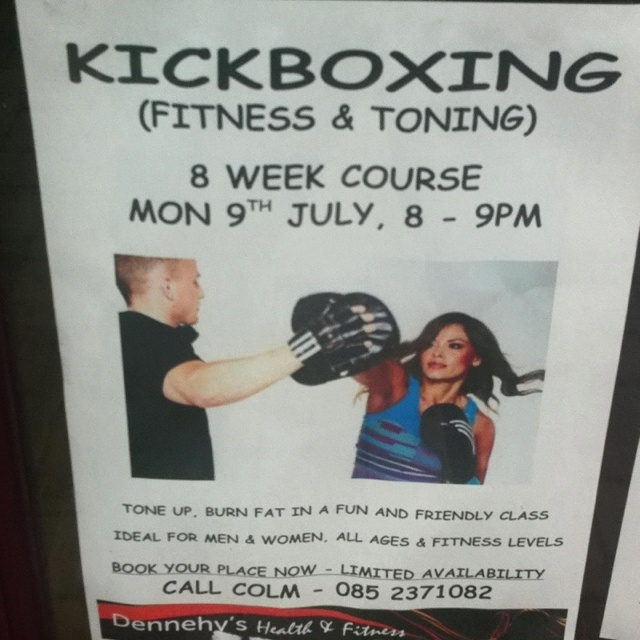Kickboxing Fitness and Toning