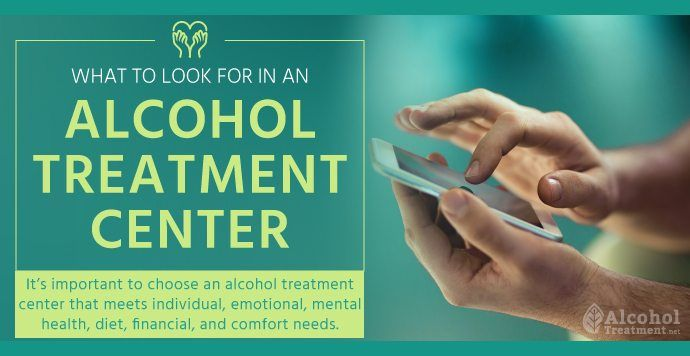 To help make such an important decision as where to enter a rehab program, there are multiple factors that should be considered.  Learn about what to look for in an alcohol treatment center below. Contact us today at (877) 416-5558. #AlcoholTreatment #Recovery #RecoveryGuide