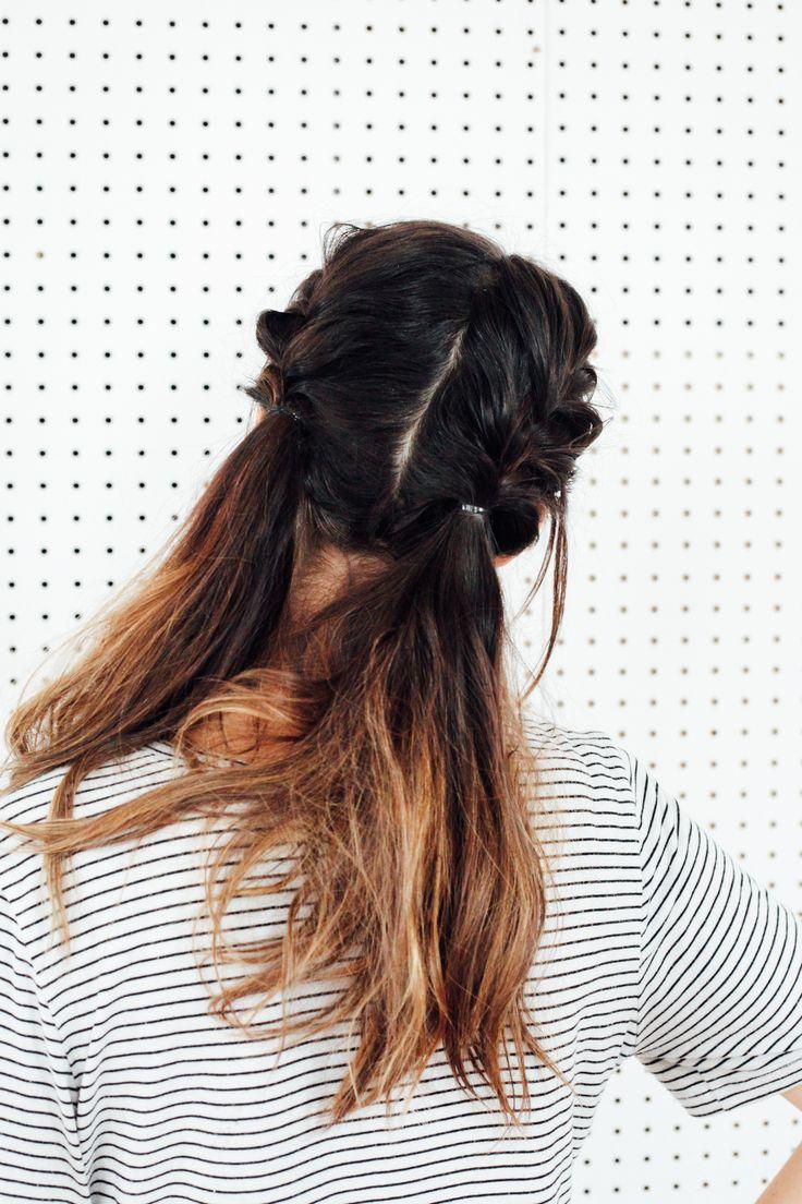 Braids & Waves // Hair Tutorial   Braided waves, Wave hair ...