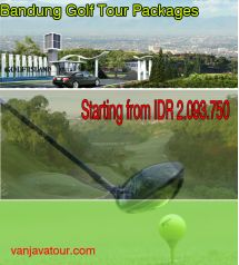 Bandung golf tour packages starting from IDR 2.093.750 price inclusive Vehicle/Car, Fuel/Petrol, Parking Fee, Driver Guide Fee, Driver Meal Fee, Pick Up & Drop off at Airport, Accommodation as your choice (2 Night Hotel Staying), Breakfast at Hotel, Private Air-Condition Car), Entrance golf ticket (18 Hole,Green fee, Caddy, Cart, Tax & Insurance)