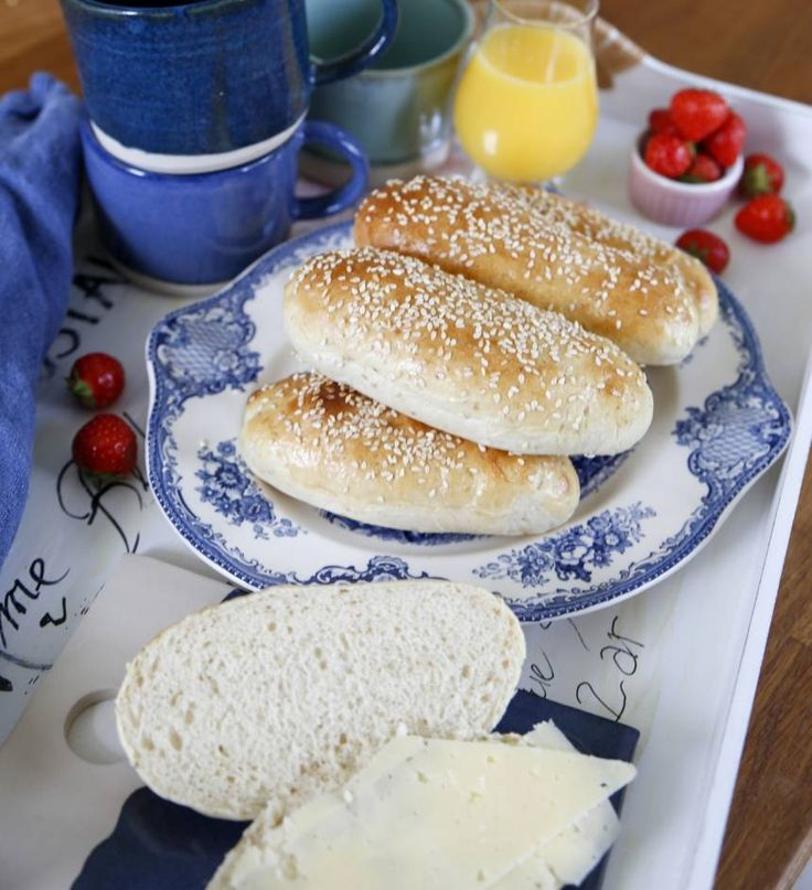 saftiga frukostfrallor