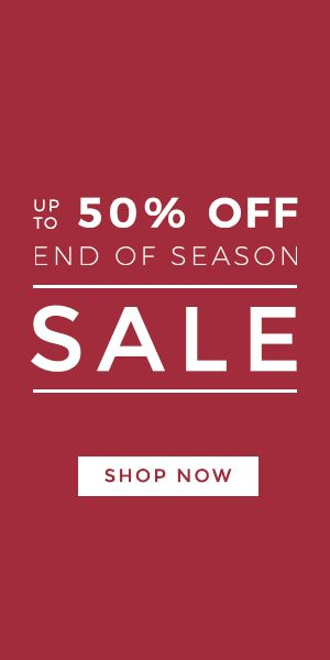 Check out our end of season SALE | Shop no for up to 50% off your favourite brands | #StyleMadeEasy