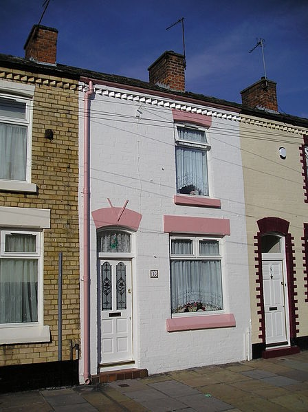 Ringo Starrs Home Admiral Grove 10, Liverpool.  Been here and met the very nice woman who lives here...