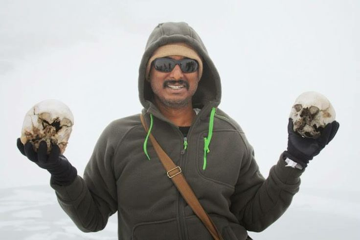 Great photo of Durga during his Himalayan Trek Challenge earlier this year.