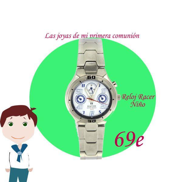 Reloj Racer Comunión Niño.