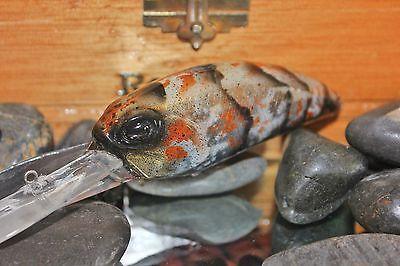 Rcl buceo profundo D87 Pintado Personalizado Manivela-Bass, Lucio, Leucomas-cobre Craw