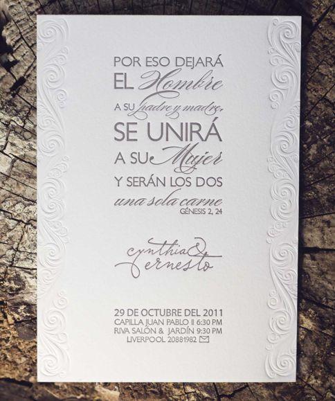 invitaciones de boda en serigrafia - Buscar con Google