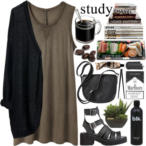 """study"" by evangeline-lily on Polyvore"