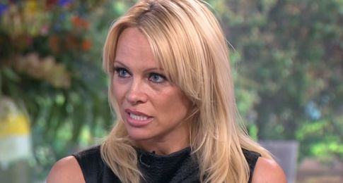 This old photo made Pamela Anderson storm off the set of UK show 'Celebrity Juice,' according to host