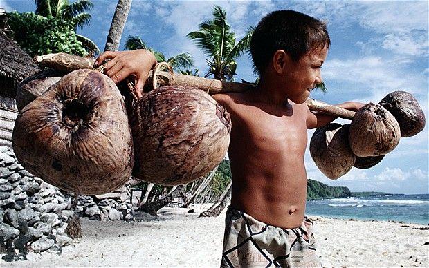 Cute little Samoan Kid!