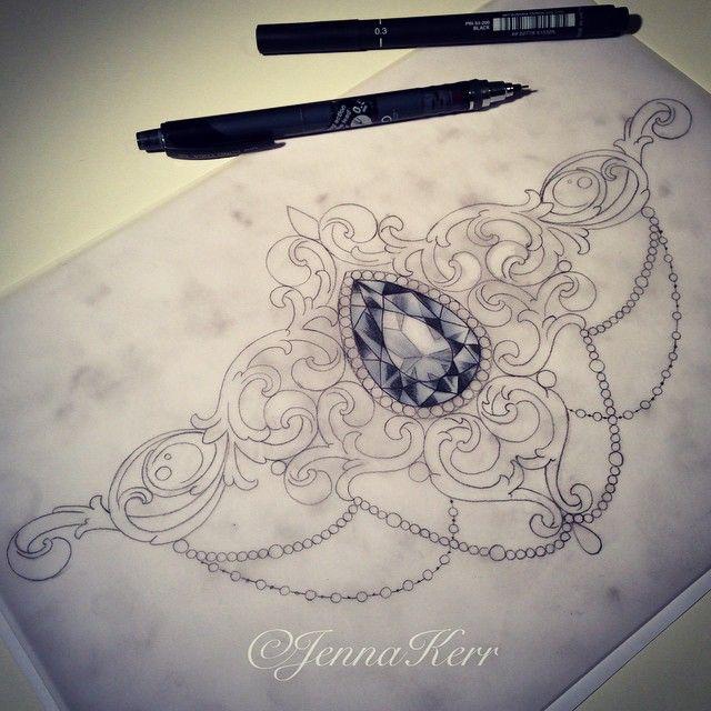 das ist sehr schön. Ich liebe Kristalle und Edelsteine und soetwas unter der Brust zu tragen, würde mir sehr gefallen.