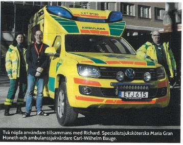 Volkswagen Amarok Tamlans modular ambulance can be equipped with the latest digital communication devices and IT solutions. Read the Article in Samverkan 112 -magazine (in Swedish): http://www.tamlans.fi/en/volkswagen-amarok-tamlans-modular-ambulance-equipped-with-the-latest-digital-communication-devices-and-it-solutions/
