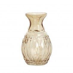 Blomstervase i røget glas. Pris 29,95 kr Yndig, lille og feminin blomstervase Brug den til årstidens blomster på bordet eller kommode, eller til borddekoration når du skal have fest Størrelse: ø5xh10c,