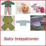 brei patroontjes voor baby
