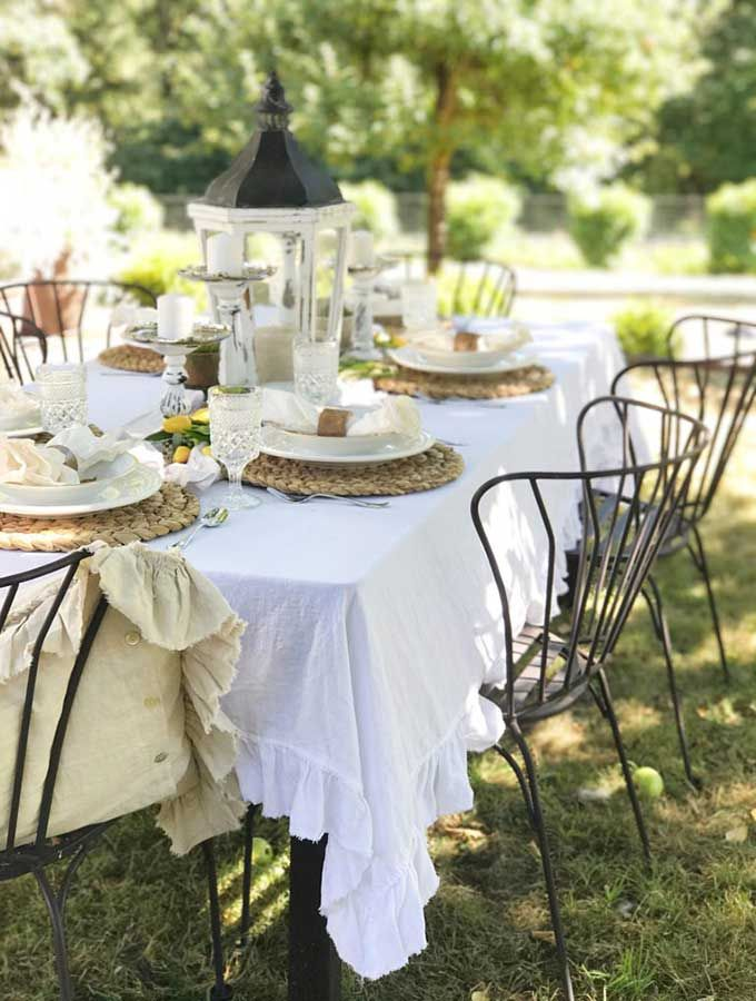 Spring Outdoor Table Ideas Hallstrom Home Summer Dining French Country Decorating Decor