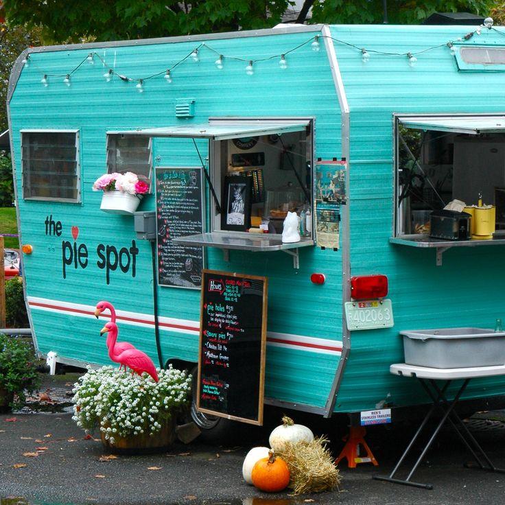 food truck, food van, on wheels, London street food
