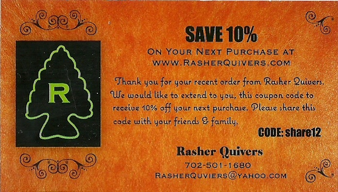 83 best rasher quivers images on pinterest quiver arm guard and 10 off your online order at rasherquivers fandeluxe Images