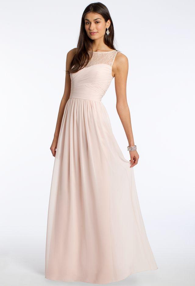 Lace Illusion Neckline Dress from Camille La Vie